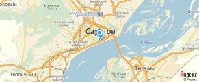Техносерв - Саратов на карте