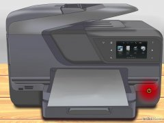 Изображение с названием Replace an Ink Cartridge in the HP Officejet Pro 8600 Step 1